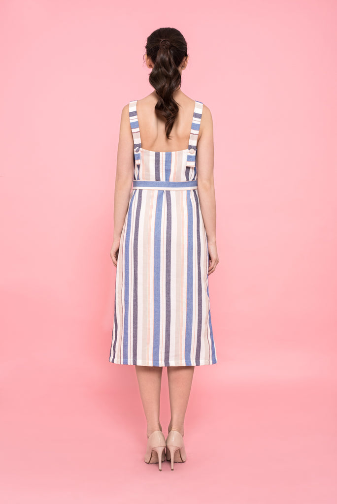 Erin Striped Dress
