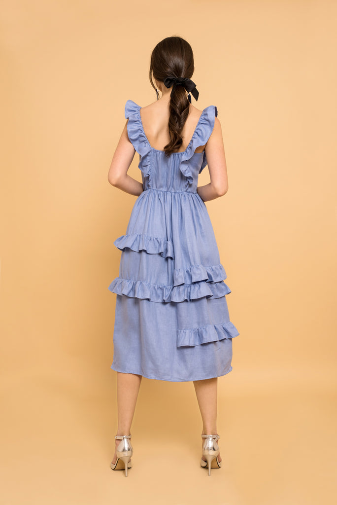 Abby Chambray Dress