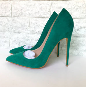 Green Pumps Shoes