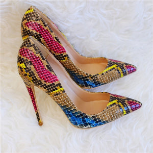 Colorful Stiletto Pumps