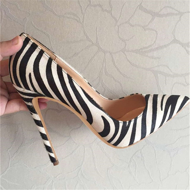 Zebra Pumps Shoes