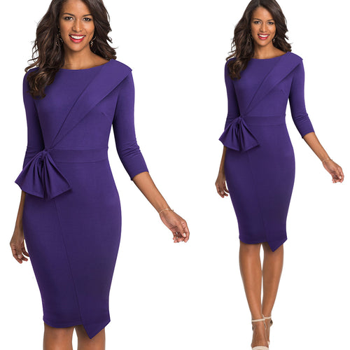 Rylee Elegant Office Dress