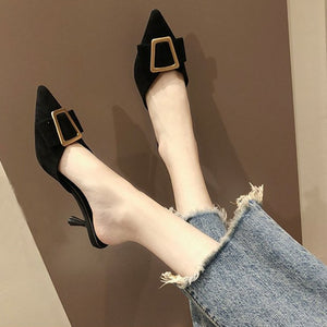 Low heels Fancy Mules