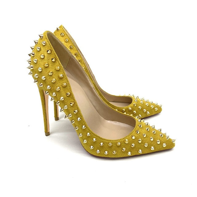 Yellow Pumps High Heels