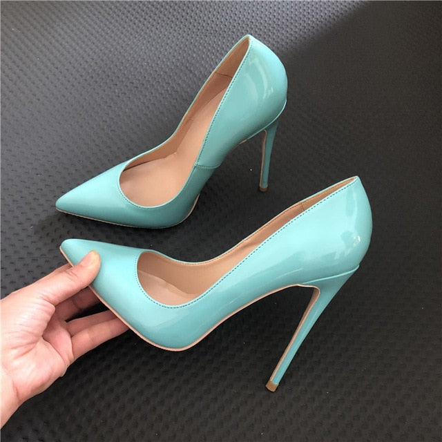 Mint Green High Heel Pumps