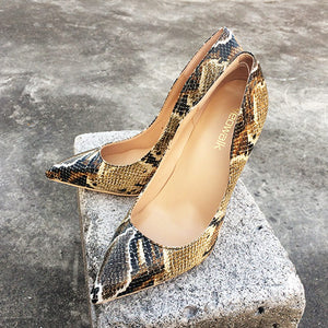 Python Print Pumps - Sherilyn Shop