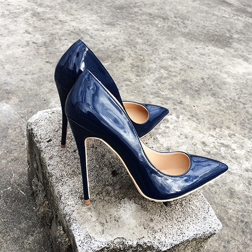 Italian Style Navy Blue - Sherilyn Shop