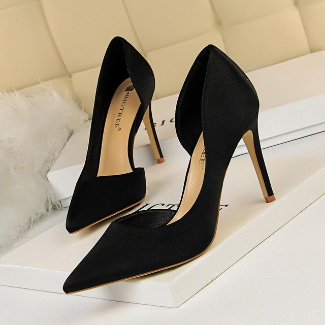 High heel Satin - Sherilyn Shop