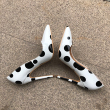 Polka Dot Print Pumps - Sherilyn Shop