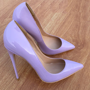 Purple Classic Pumps Shoes
