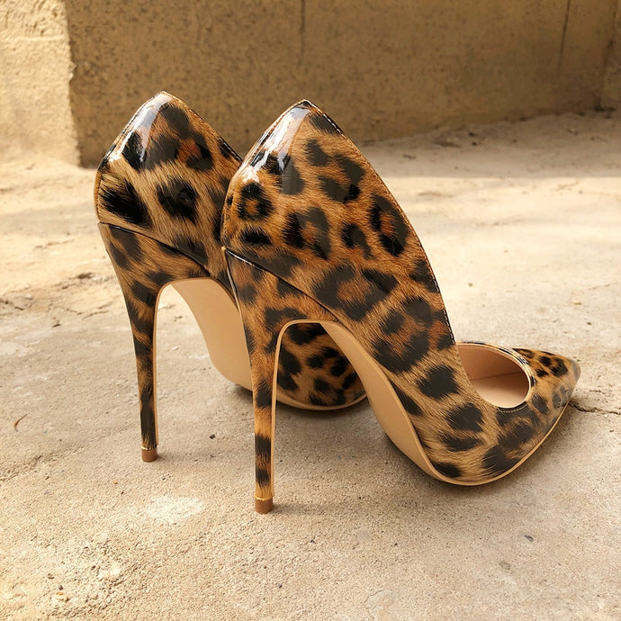 Leopard Pumps Shoes