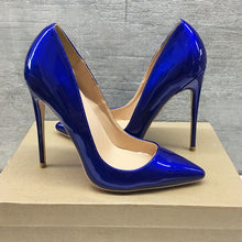 Ruby Blue Patent Leather - Sherilyn Shop