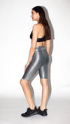 The Steel Stripe Metal Biker Short