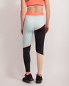 BUTTER COLOR BLOCK LEGGING rear full body
