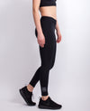 Butter Black legging Side view