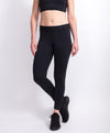 Butter Black legging Front view