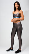 Core Metal Champagne Legging