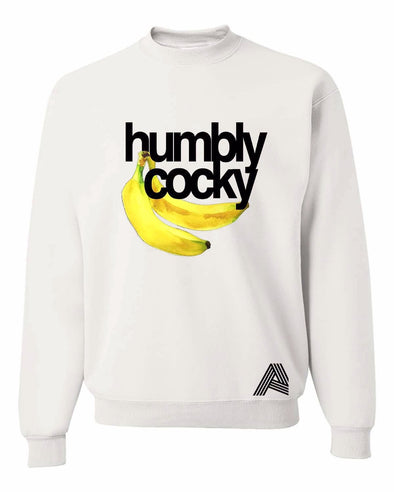 Exclusive Humbly Cocky Banana Crewneck