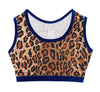 Leopardess Velvet Crop