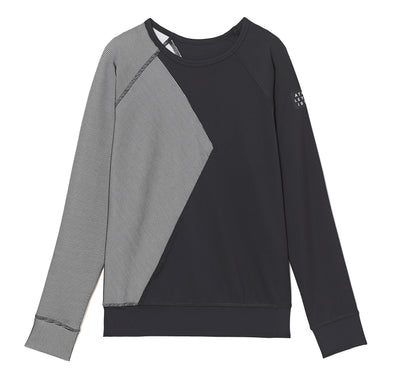 3D Illusion Cutout Crewneck