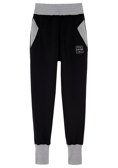 Butter Hammer Drop Black Sweat Pant