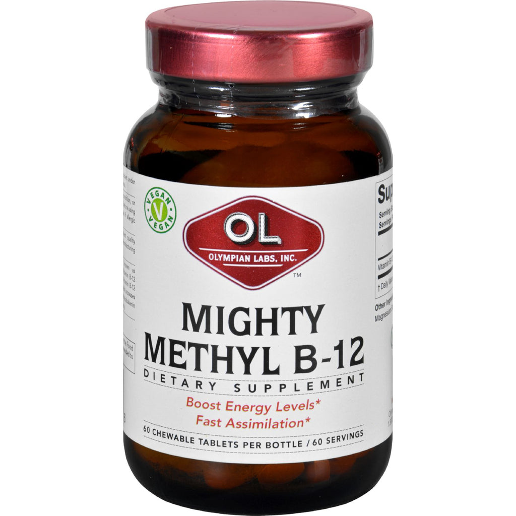 Olympian Labs Vitamin B 12  Mighty Methyl B 12  60 Tablets