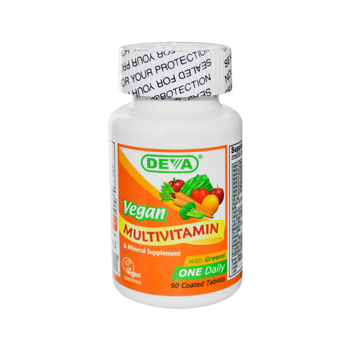 Deva Vegan Multivitamin and Mineral Supplement (1x90  Tablets)