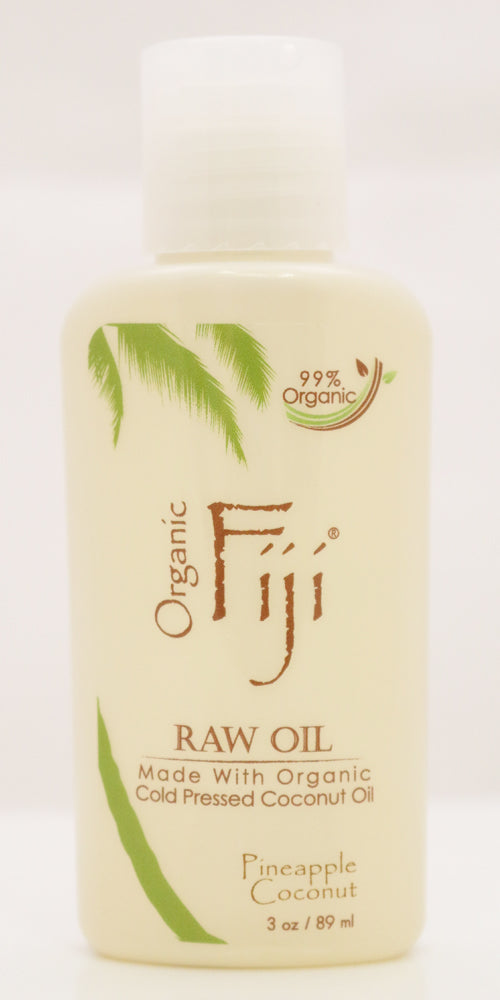 Organic Fiji Virgin Coconut Oil Pineapple 3 fl Oz