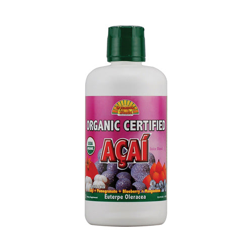 Dynamic Health Organic Certified Acai Berry Juice Blend (33.8 fl Oz)