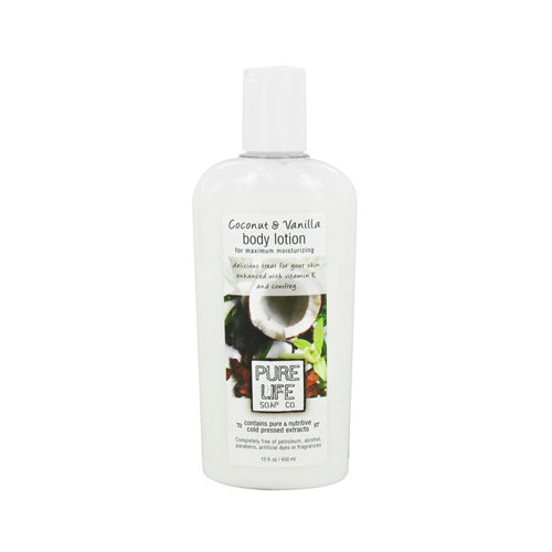 Pure Life Body Lotion Coconut and Vanilla (1x14.9 fl Oz)
