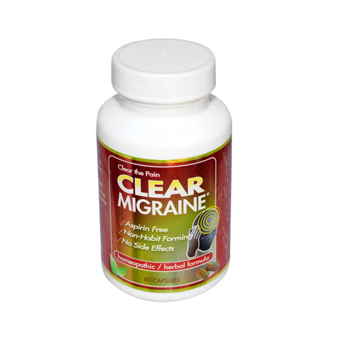 Clear Products Clear Migraine (60 Capsules)