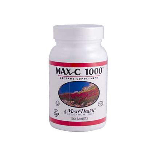 Maxi Health C-1000 with Bioflavonoids 1000 mg (1x100 Tablets)