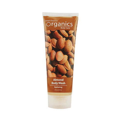 Desert Essence Body Wash Almond (8 fl Oz)