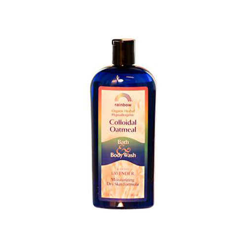 Rainbow Colloidal Oatmeal Bath and Body Wash Lavender (12 fl Oz)