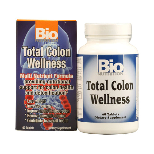 Bio Nutrition Total Colon Wellness (1x60 Tablets)