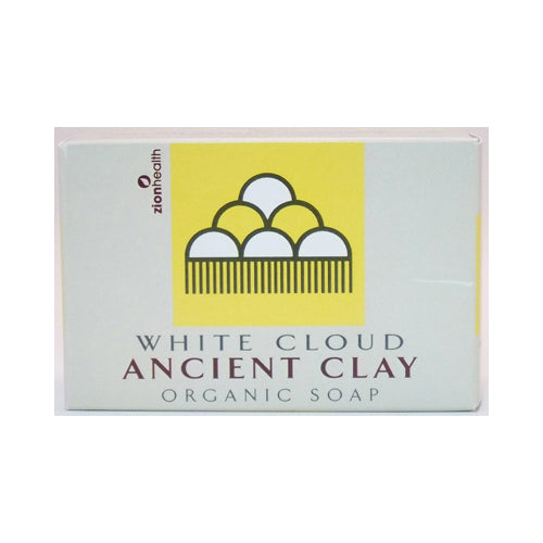 Zion Health Clay Bar Soap White Cloud 6 Oz