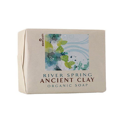 Zion Health Clay Bar Soap River Spring 10.5 Oz