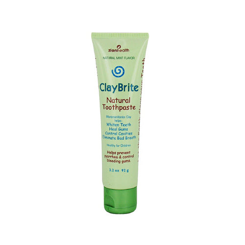 Zion Health Claybrite Extra Strength Toothpaste 3.2 Oz