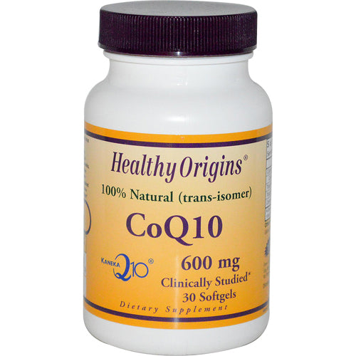 Healthy Origins CoQ10 600 mg (30 Softgels)
