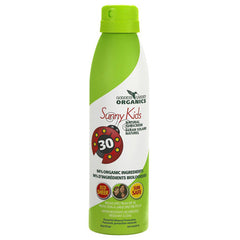 Goddess Garden Organic Sunscreen Sunny Kids Natural SPF 30 Continuous Spray (1x6 Oz)
