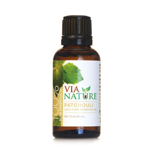 Via Nature Essential Oil 100% Pure Patchouli (1x1 fl Oz)