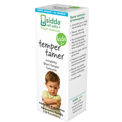 Sidda Flower Essences Temper Tamer Kids Age Two Plus 1 fl Oz