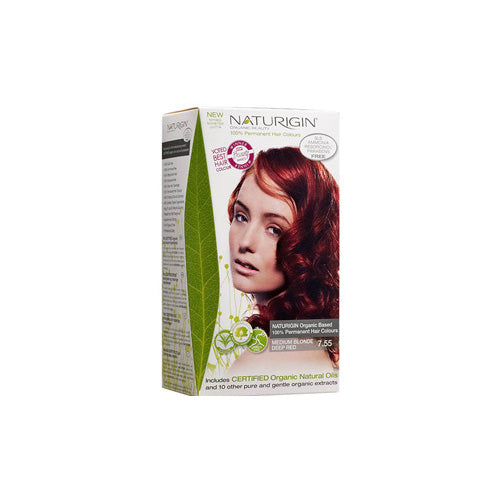 Naturigin Hair Colour Permanent Medium Blonde Deep Red (1 Count)