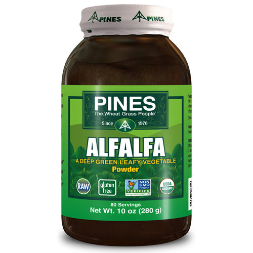 Pines International Alfalfa Organic Powder (1x10 Oz)