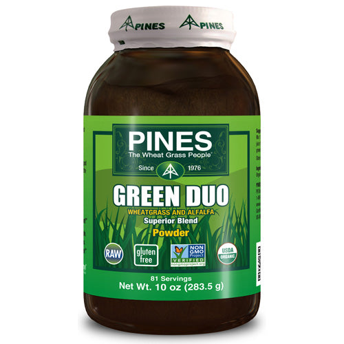 Pines International Green Duo Organic Powder (1x10 Oz)