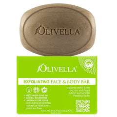 Olivella Bar Soap Face and Body Exfoliating 5.29 Oz