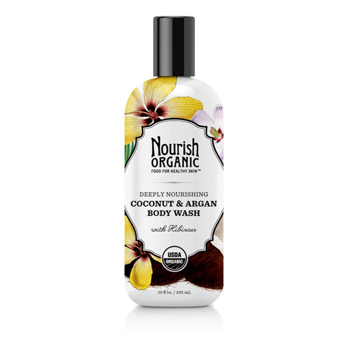 Nourish Body Wash Organic Tropical Coconut (10 fl Oz)