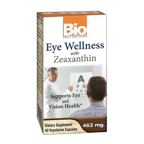 Bio Nutrition Inc Eye Wellness with Zeaxanthin  60 Vegetarian Capsules