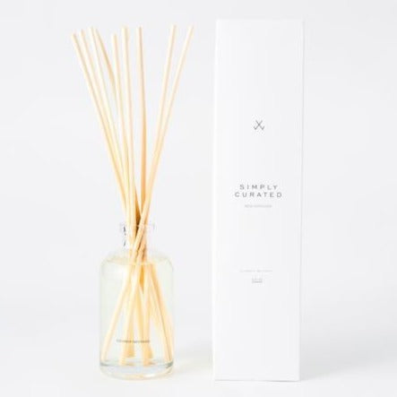 Botanical scented reed diffuser all natural at Small Batch Gallery New Bern NC