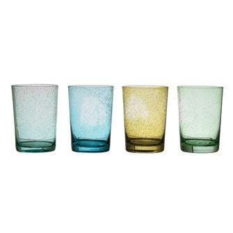Bubble Drinking Glass in Assorted Colors
